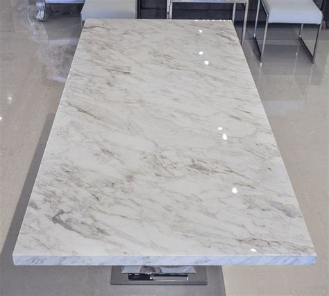 White marble table top dining table rn 139d dining table
