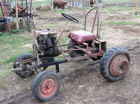 doodlebug hay trailer tractor attached thumbnails excavator
