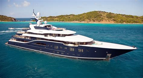 largest luxury boat in the world lurssen superyacht solandge sold biggest deal of 2017
