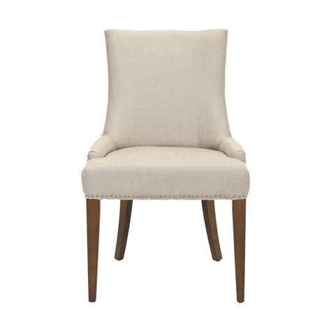 fabric dining room chairs decor market safavieh becca fabric dining chair dining