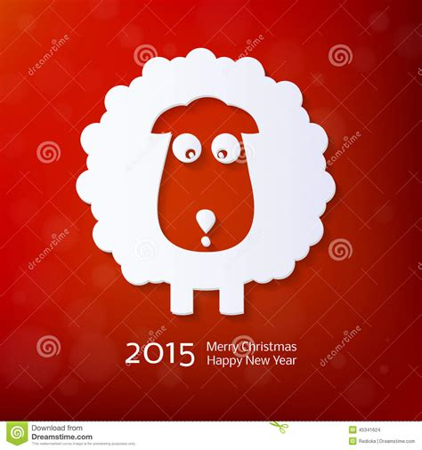 new year ram vector zodiac 2015 stock vector illustration of element