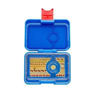 Yumbox Tapas Antibes Blue 5 Comp Bon Appetit Tray jual kotak makan lunch box yumbox terbaru harga promo blibli