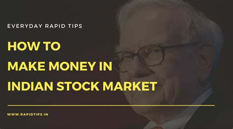 how to make money in the stock market book howsto co how to make money in indian stock market beginners to