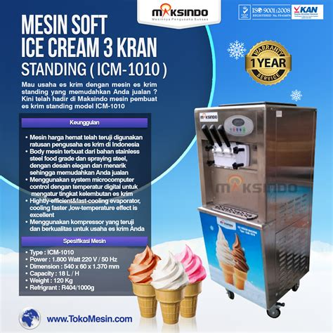 Freezer Es Krim Murah mesin es krim murah maksindo cocok untuk bisnis toko mesin