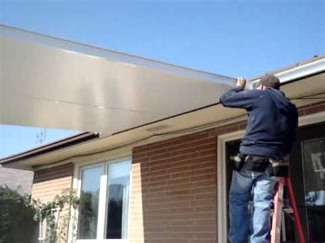 Aluminum Porch Awnings Price How To Install Insulated Roof Panels Part 1 Youtube