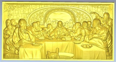 supper christianity jesus  stl models