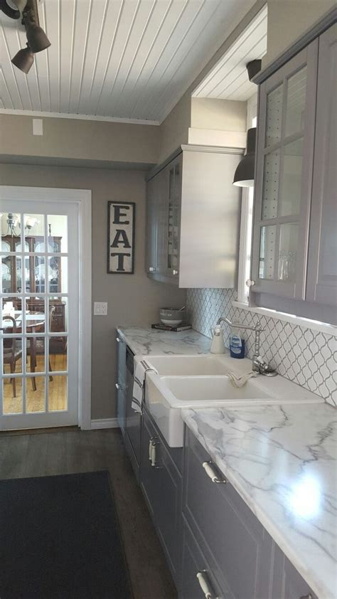 101 best island inspiration images on pinterest cuisine finest licious bodbyn gris ikea trending grey ikea kitchen
