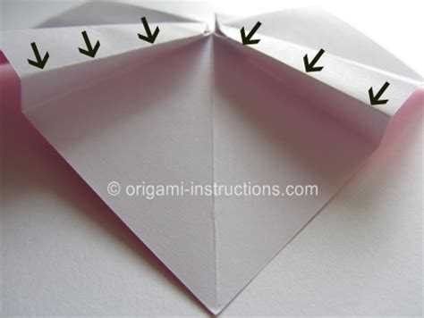 How To Make A Paper Arrow And Bow - origami bow folding