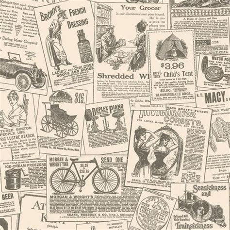 Decoupage With Newspaper Clippings - newspaper wallpaper design gallery