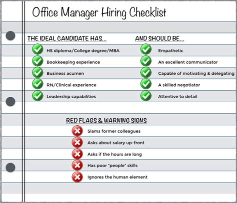 how to hire the right office manager