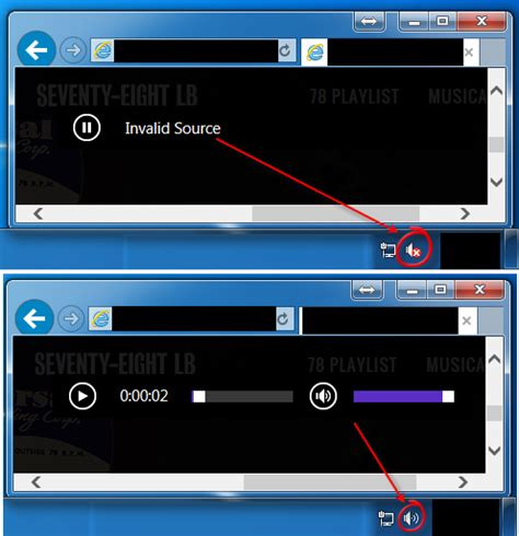Chrome Flash Doesnt Work ie10 and html5 audio