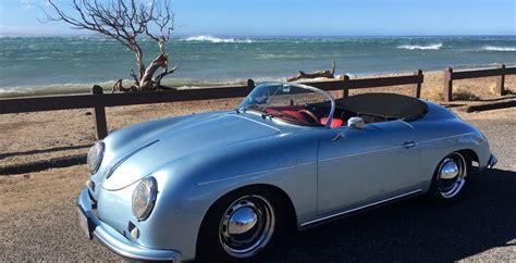 porsche speedster blue mano arctic blue 1957 porsche 356 speedster reproduction