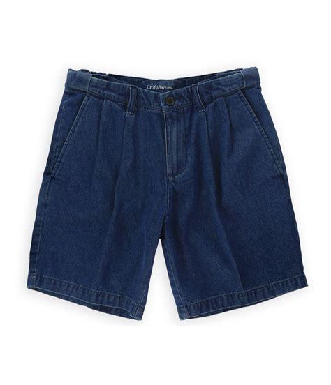 men s comfort waist shorts croft barrow mens comfort waist casual denim shorts