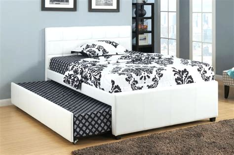 size bed frame with trundle size trundle bed