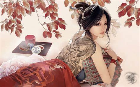 google themes hot girl tattoo girl chrome web store