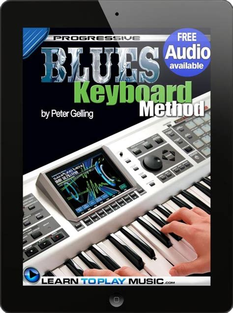 tutorial keyboard blues how to play keyboard blues keyboard lessons for beginners