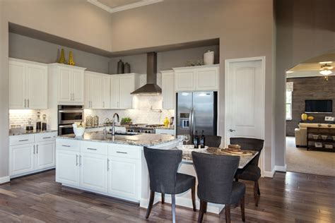 Bone Color Kitchen Cabinets White Kitchen Cabinets Burrows Cabinets Central Builder Direct Custom Cabinets