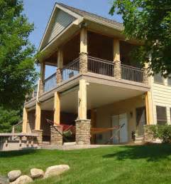 patio posts cedar porch dupont construction remodeling