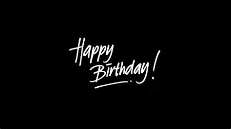 ap happy birthday dark event writing wallpaper