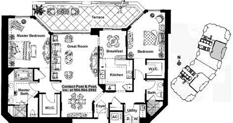 Bradford Floor Plan | las olas grand bradford floor plan