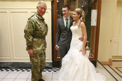 Kristik Wedding prince charles unexpectedly shows up at wedding in ayr and