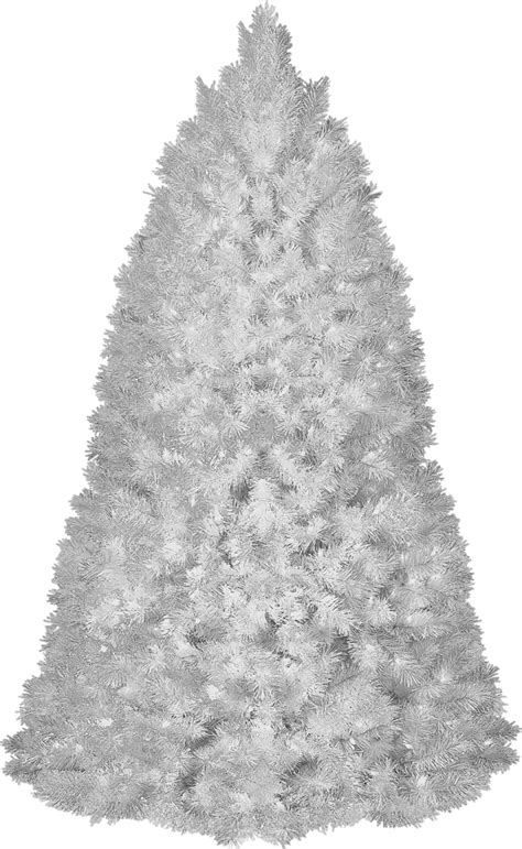 white christmas tree transparent www pixshark com