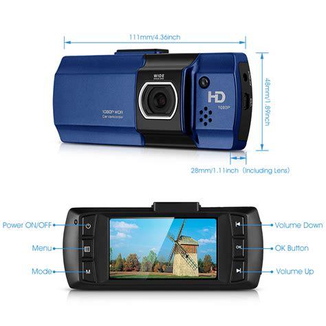 Car Camcorder 2 7 1080p hd 2 7 quot 1080p vehicle dvr autokamera dashcam kamera