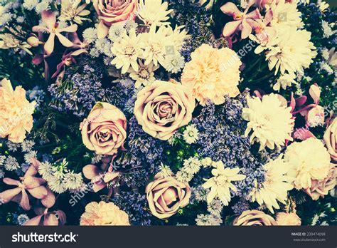 flower wallpaper effect vintage old flower backgrounds vintage effect stock photo