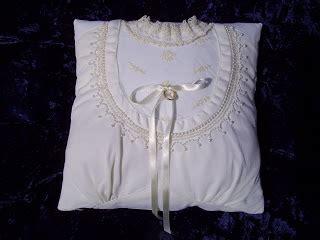 Maudy Flowers Dress cutting cloth converted wedding dress pillow