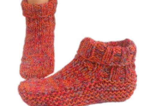 mens knitted slipper socks 153 best knit slippers images on knit socks