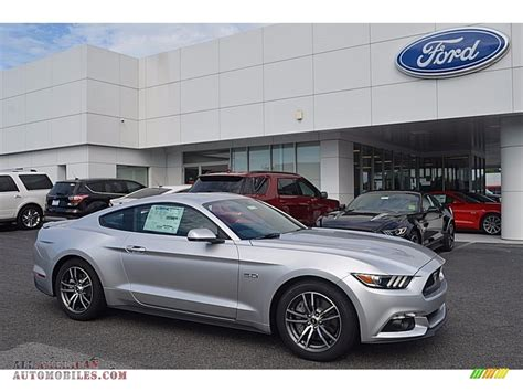 Silver Premium 2017 ford mustang gt premium coupe in ingot silver 342734 all american automobiles buy