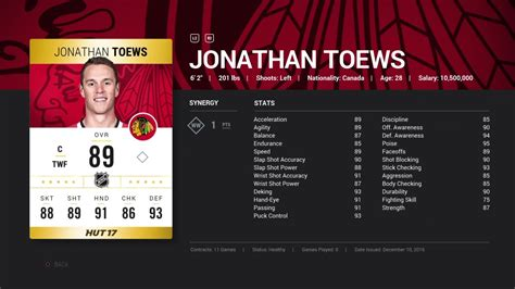 Nhl Giveaway Stats - closed nhl 17 jonathan toews giveaway ps4 youtube