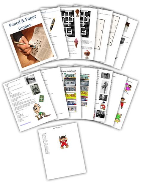 printable paper and pencil games family reunion helper family reunion and party ideas