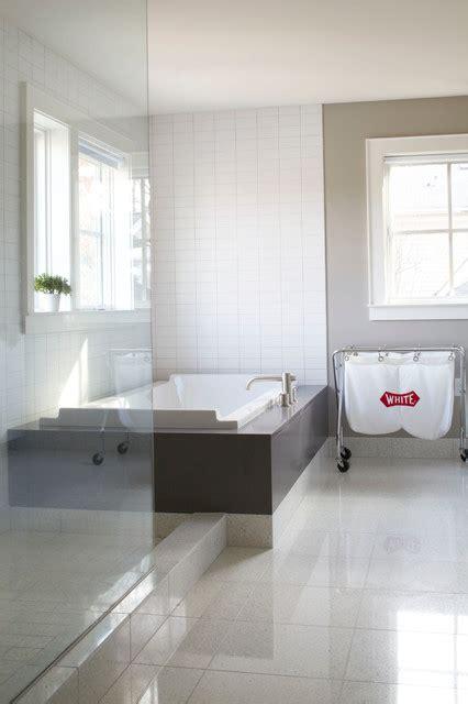 mindful gray bathroom morningside renovation modern bathroom atlanta by