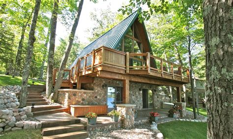 a frame chalet beautiful a frame chalet on lake minocqua chain vrbo