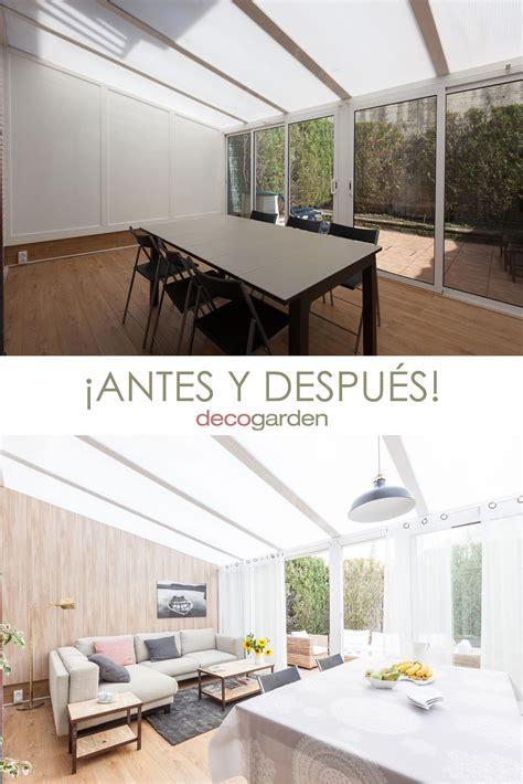 decorar una sala en terraza acristalada decogarden