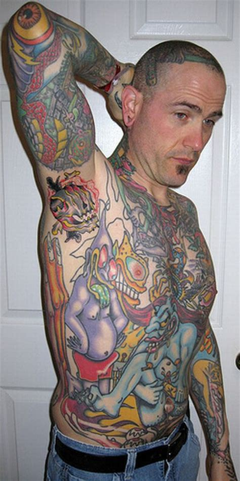 armpit tattoos damn cool pictures