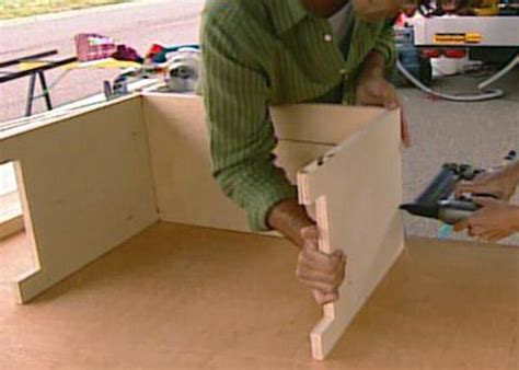 dog crate bench seat how to build a dog crate cover bench seat hgtv
