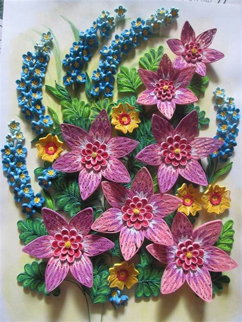 Paper Quilling Flower - 620 best images about paper quilling on paper