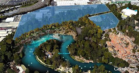 disney world reveals new name artwork models for look at new rivers of america waterfront and