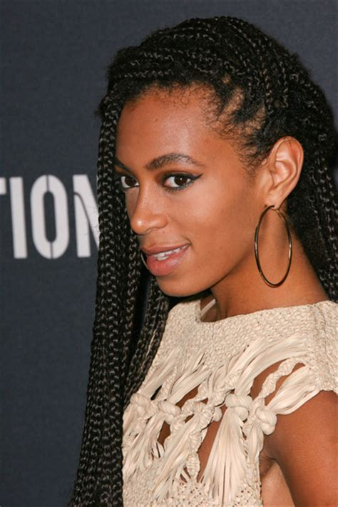 solange knowles braid hairstyles hair polka dots potions