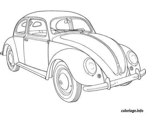 old fashioned cars coloring pages coloriage voiture coccinelle dessin