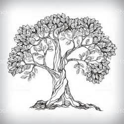 How To Draw A Tree Psikotes S 237 Mbolo De 225 Rbol Dibujo A Mano Illustracion Libre De