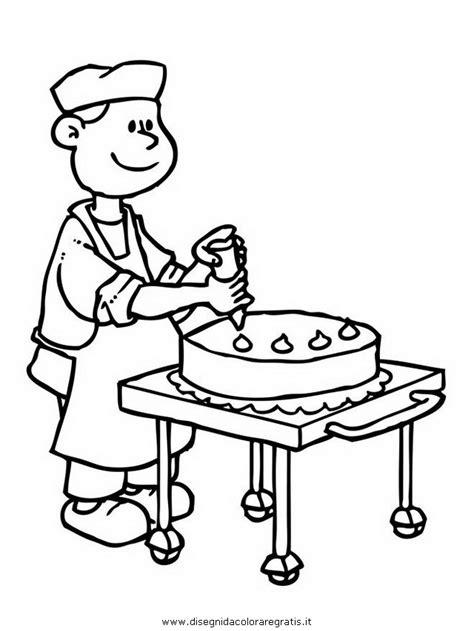 come diventare professore di cucina disegno cuoco pasticcere fornaio 03 categoria persone da