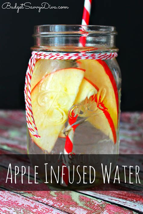 Detox Water With Apples And Oranges by Apple Detox Infused Water Recipe Budget Savvy