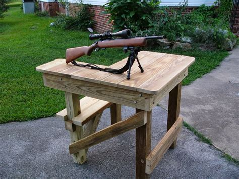 shooters bench woodworking plans online shooting bench plans