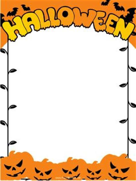 halloween templates for word 86 best images about paper templates on pinterest