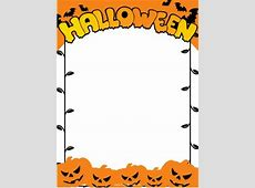 Halloween Word Document Borders – Festival Collections A-paper Clip Art