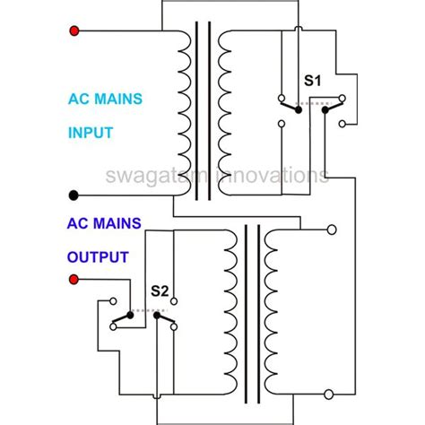 variable transformer wiring diagram single phase