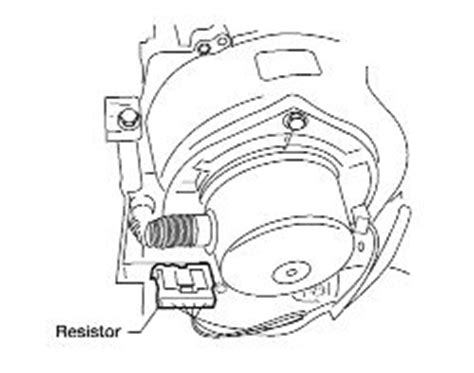 2005 altima blower motor resistor 2007 nissan altima blower motor works voltage starts blowing